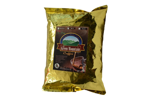 The Green Mountain Medium Dark Roasts Coffee Beans